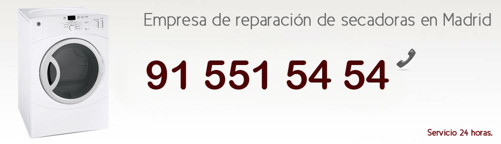 Reparacion secadoras Madrid. Servicio técnico secadoras
